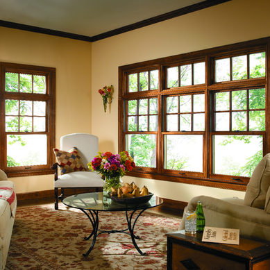Anderson Replacement Windows >> Pella Wood Double Hung Windows | Hometowne Windows and Doors Hometowne Windows and Doors